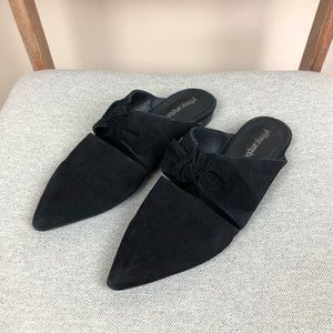 Jeffrey Campbell Black Charlin Bow Mules